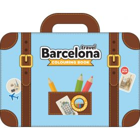 Barcelona Traveling Colour Book