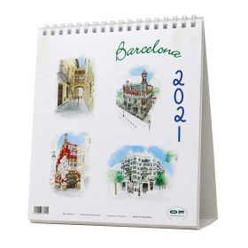 Casa Batlló Watercolor Calendar