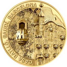 Collectable Coin Casa Batlló 2020