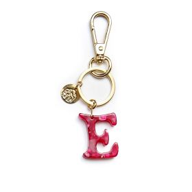 Keychain letter E pink Gaudi alphabet collection