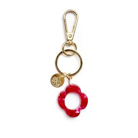 Keychain letter O pink Gaudi alphabet collection
