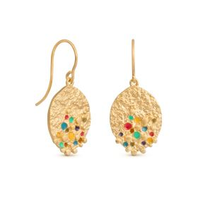 Puntillista collection earrings