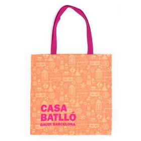 Bolsa elements salmon/fucsia