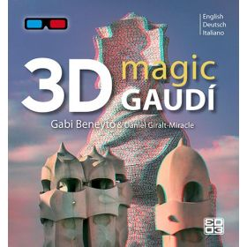 3D Magic Gaudí. English, Deutsch, Italiano