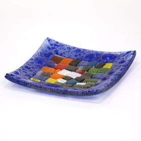 Rectangular Glass Plate Mosaico Collection