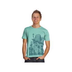 Turquoise T-Shirt Fachada Collection