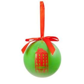 Christmas ball Neon collection. Green