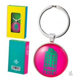 Key chain Neon collection. Pink