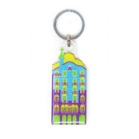 Blue CB keychain Neon collection