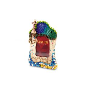 Casa Batlló 3D resin photo frame
