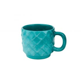"""Escamas"" collection mug. Shinny green"