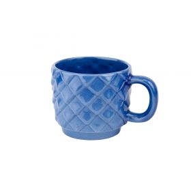 """Escamas""collection mug. Shiny cobalt"