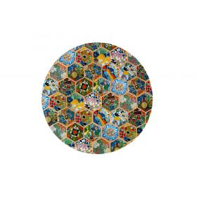 Hexagonal Collection Plate 15 cms