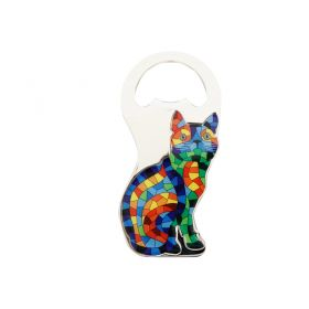 Magnet/ Bottle opener Cat