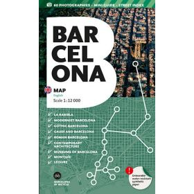 Map of Barcelona. English