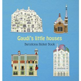 Libro Gaudi's Little Houses Sticker Book