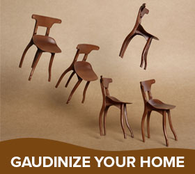 Gaudinize your home